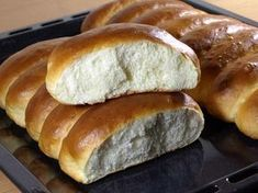 Einback Rezept - Leckere Milchbrötchen aus Hefeteig backen