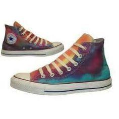 Tye-Dye Converse... COOLIO!!!