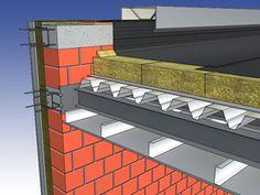 Flat roof   Knauf Insulation Follow: http://soundproofcurtain.com