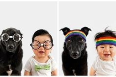 World's cutest Instagram feed: Zoey & Jasper features a little boy and a rescue dog.