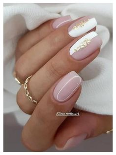 Bright Nails, Neutral Nails, Nails Now, Gel Nails, Stylish Nails, Trendy Nails, Cute Acrylic Nails, Cute Nails, Milky Nails