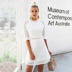 Elegant Hollow Out Lace Half Sleeve Summer Style Midi Spring Short Casual  Dress a1bb7bb90ef4