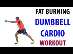 Fat Burning Cardio Dumbbell Workout For Beginners ~ No Repeats Workout