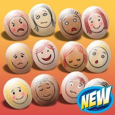 Emotion Stones -Feelings and emotions activities for KS1 and early years  make your own using river rocks and sharpies