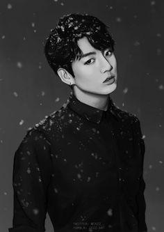 BTS Jungkook Christmas Fanart ♥♥: