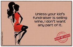 Wine Fundraiser!  Great idea!