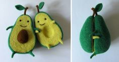 Avocado Love: Wool Sculpture By Ukrainian Artist Anna Dovgan   Bored Panda