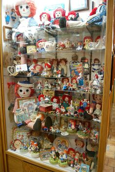 """Display from """"The World's Largest Toy Museum"""" in the Branson, MO, area."""