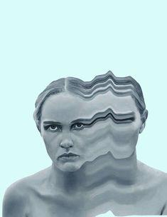 Colorful Glitch Portraits by Joshua Davidson – Fubiz Media Distortion Photography, Distortion Art, Art Photography, Glitch Kunst, Glitch Art, Glitch Photo, Kunst Inspo, Art Inspo, Drugs Art