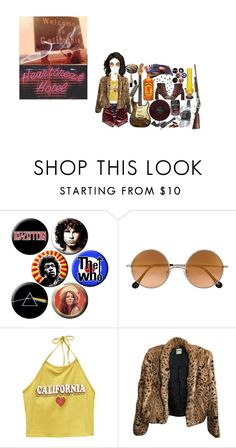 """""""heartbreak hotel"""" by larrypossum ❤ liked on Polyvore featuring Band of Gypsies, Revolver, Elizabeth and James, Wet Seal, Haute Hippie, STELLA McCARTNEY and Tokyo Rose"""