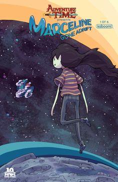 Marceline Gone Adrift #1 jackpot variant cover by Carey Pietsch