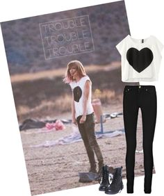 """""""I knew you were trouble..."""" by cataliinaa22 on Polyvore"""