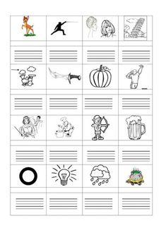 ÍRD LE A KÉPEK NEVÉT! FELADATLAPOK - webtanitoneni.lapunk.hu Grade 1, Education, Learning, School, Elsa, Books, Cards, Activities, Reading