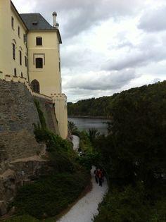 The Orlik Castle in the Czech republic
