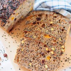 Chleb pszenny, drożdżowy, z naczynia żaroodpornego | Smaczna Pyza Banana Bread, Food And Drink
