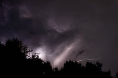 Raleigh North Carolina Lightning Storm Clouds