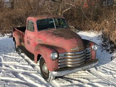 1949 5 Window Deluxe Chevrolet Pickup Truck 9' Foot Bed One Ton 3800 for sale: photos, technical specifications, description Old Trucks, Chevy Trucks, Pickup Trucks, Classic Trucks For Sale, Garden Tool Storage, Retro Radios, New Tyres, Diy Garage, Motors