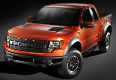 Ford F150 SVT Raptor. If you're gonna get one, make sure it has the center console holster package. SICK.