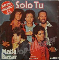 Matia Bazar Solo Tu 49 331 1000's Viny Records on www.popmaster.pl