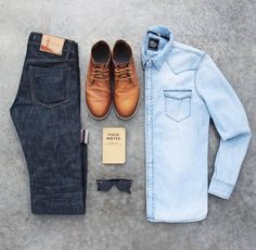 "4,982 Likes, 27 Comments - StylesOfMan.com (@stylesofman) on Instagram: ""Denim daze  : @awalker4715"""
