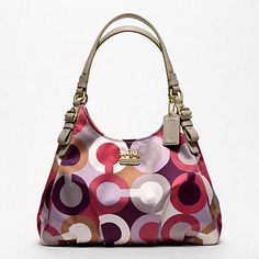 Want this one!!  MADISON GRAPHIC OP ART MAGGIE - SHOULDER BAGS - HANDBAGS - The Welcome Beach Season Event