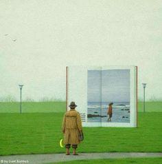 """Ma dobbiamo continuare  come se  non avesse senso pensare  che s'appassisca il mare.    da """"La ballata di Rudi"""" (Elio Pagliarani)"""