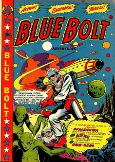 Blue Bolt cover by Cole -