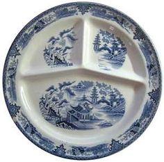 nursery toile tableware