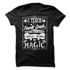 TEACHER1 - Fourth Grade - #shirt cutting #tshirt women. BEST BUY => https://www.sunfrog.com/LifeStyle/TEACHER1--Fourth-Grade.html?68278