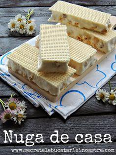 NUGA DE CASA - Secretele bucatariei noastre Romanian Desserts, Romanian Food, Cake Recipes, Dessert Recipes, Sweet Cooking, Honey Recipes, Desserts To Make, Sweet Tarts, Food Cakes