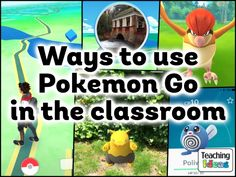 Use your children's interest in Pokemon Go as the starting point for learning with our huge collection of teaching ideas and classroom / outdoor activities. Teaching Activities, Teaching Strategies, Classroom Activities, Teaching Resources, Outdoor Activities, Teaching Ideas, Teaching Tools, Teaching Math, Maths