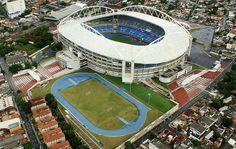 Estadio Nilton Santos, sede del Botafogo de Rio de Janeiro. 46931 espectadores.