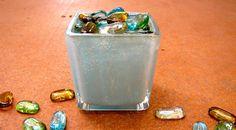 Dollar Tree Blue Mercury Glass | Morena's Corner