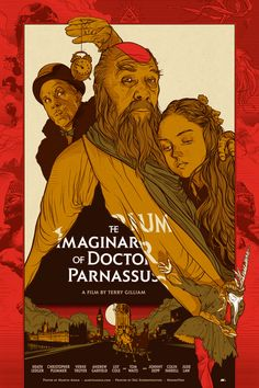 "MP397. ""The Imaginarium of Doctor Parnassus"" Alternate Movie Poster by Martin Ansin 2010 (Terry Gilliam 2009) / #Movieposter"