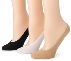 $16.35 Ozone Design Women's 3-Pack No Show Sock, Nude/Black/White, One Size Ozone,http://www.amazon.com/dp/B001V9LTZ4/ref=cm_sw_r_pi_dp_hv33qb1GFS3X2YF3