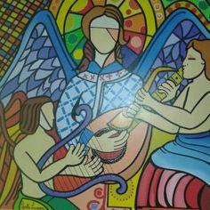 Anjos por Edvaldo Tavares (meu pai)