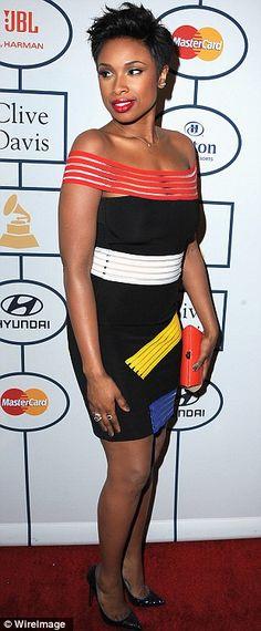 Jennifer Hudson + dress