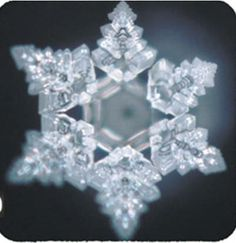 Water is an incredible conductor.  We are over 90% water.  Everything that we allow to spend time in our consciousness affects us.  This crystal was formed when water was placed on the word Hope. Dr. Emoto's work is beyond amazing. Water crystal of hope - by Japanese scientist Masaru Emoto