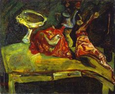 soutine paintings | The Table - Chaim Soutine - WikiPaintings.org