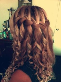prom/homecoming hair super cute!