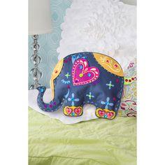 DIY ROOM DECOR ✿ No Sew Elephant Pillow Plush | Fieltro | Pinterest | Elephant pillow Plush and Diy room decor
