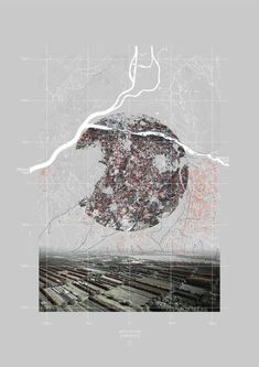 gauthier durey - landscape urbanism Interpretive mapping attracted:http://archidrawings.info/post/132464492131/gauthier-durey-landscape-urbanism-interpretive