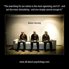 Fab quote by Karen Horney. Click on image or GO HERE --> www.all-about-psychology.com for free psychology information & resources. #psychology #Karen Horney (Photo By Gustavo Via Flickr CC BY-NC-SA 2.0)