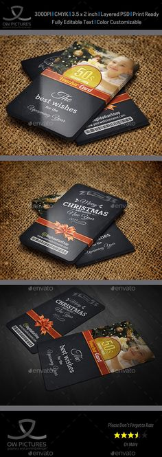 Christmas and New Year Gift / Voucher Card Vol. 15