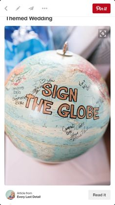 Signature globe