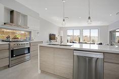 Mincove Homes Kitchens, White, Concrete Pendants