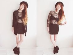 Favourite dress ♥ (enter my giveaway) (by Juule Kay) http://lookbook.nu/look/4644037-favourite-dress-enter-my-giveaway