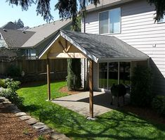 Gabled Patio | Gable End Patio Cover In Salem By TnT Builders Inc, Deck And