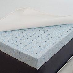 ViscoFresh® 2-Inch Gel Memory Foam Mattress Topper