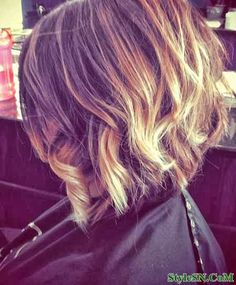 Cool Colors for Short Hair 2014
